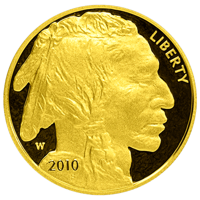 American-Gold-Buffalo-Proof-Front-view-South-Bay-Gold