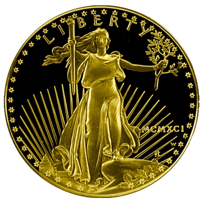 American-Gold-Eagle-Proof-Front-view-South-Bay-Gold