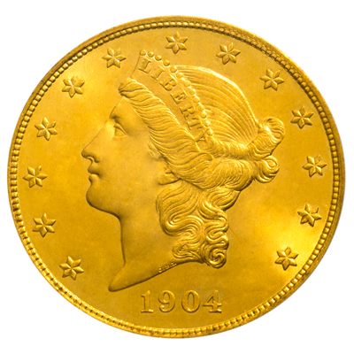 Liberty-Gold-Coin-MS64-1904-F-South-Bay-Gold