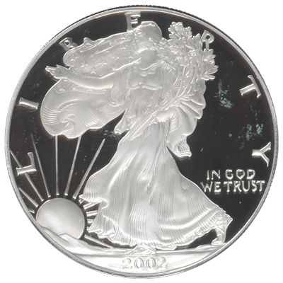 American-Silver-Eagle-Proof-Front-view-South-Bay-Gold
