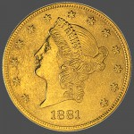 American Gold 20 Liberty Front-view South Bay Gold Numismatic