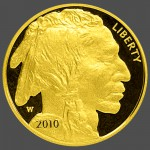 American Gold Buffalo Proof Front-view South Bay Gold