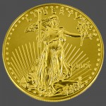 American Gold Eagle Front-view South Bay Gold