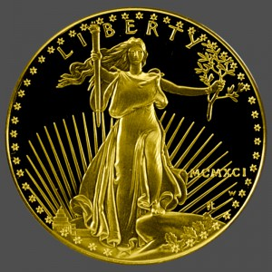 American Gold Eagle Proof Front-view South Bay Gold