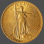 American Gold Saint Gaudens Front-view South Bay Gold