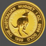 Australian Gold Kangaroo Back-view South Bay Gold