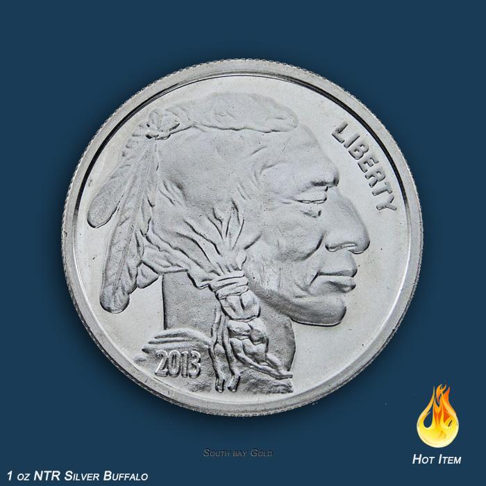 Buffalo 1oz Silver South Bay Gold Coin Store USA