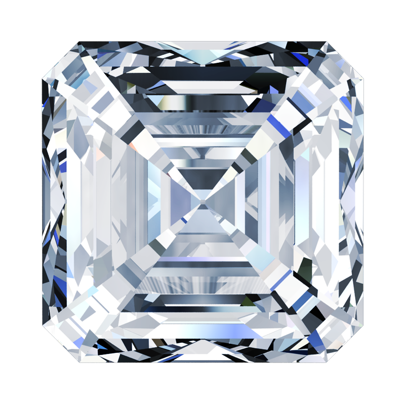 Diamond Asscher-Cut - South Bay Gold