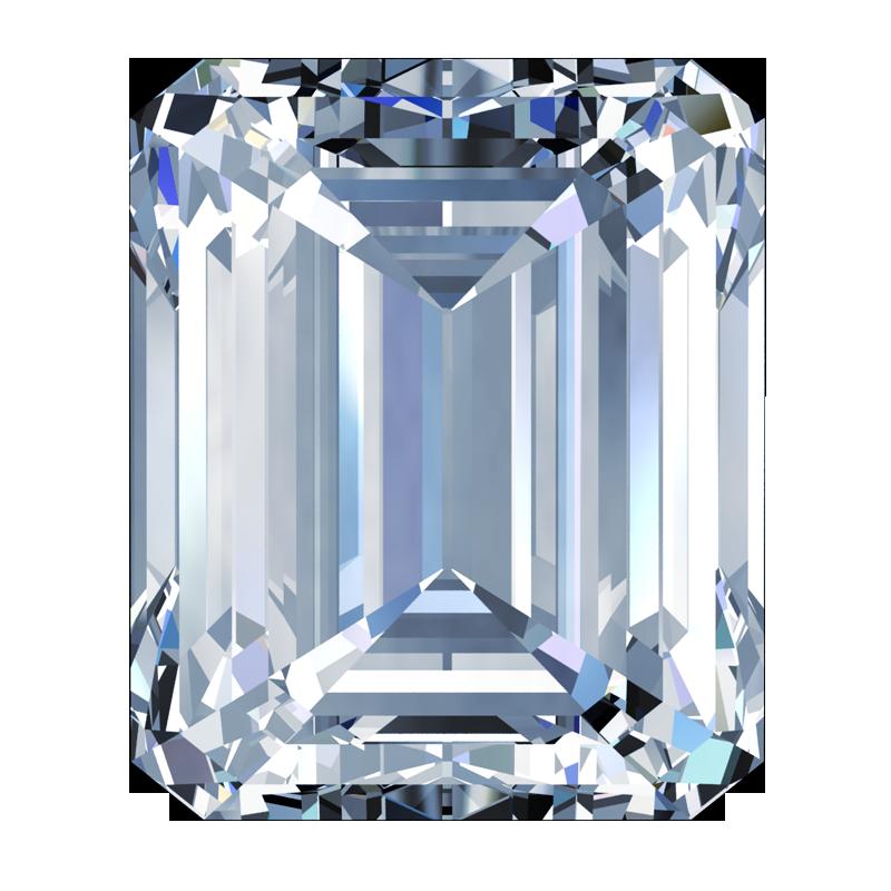 Diamond Emerald-Cut - South Bay Gold