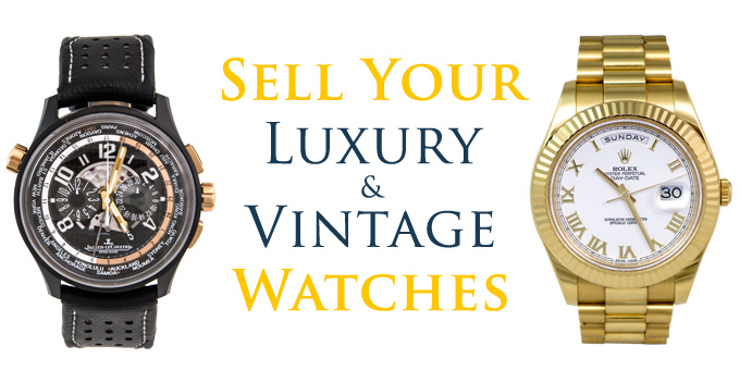 Sell Watches Buy Watches - Vintage Luxury - South Bay Gold