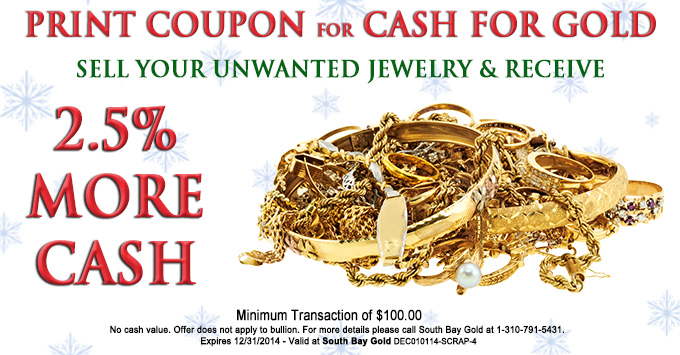 Selling Gold Jewelry Coupon in Torrance Compare With Fast Fix