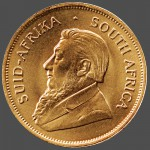 South African Krugerrand Front-view South Bay Gold