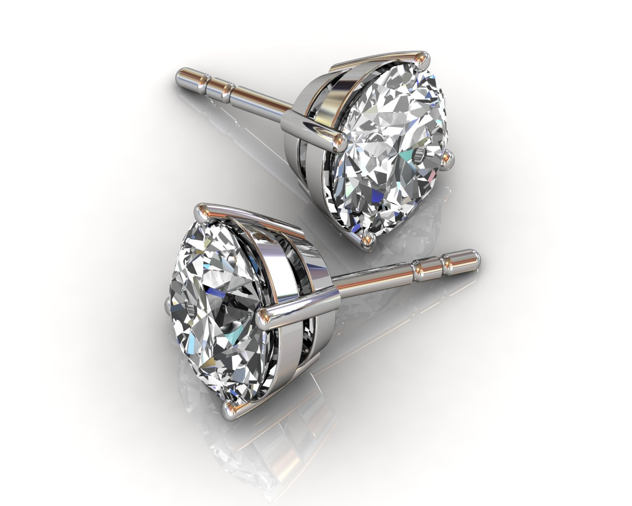 South Bay Gold - Diamond Studs