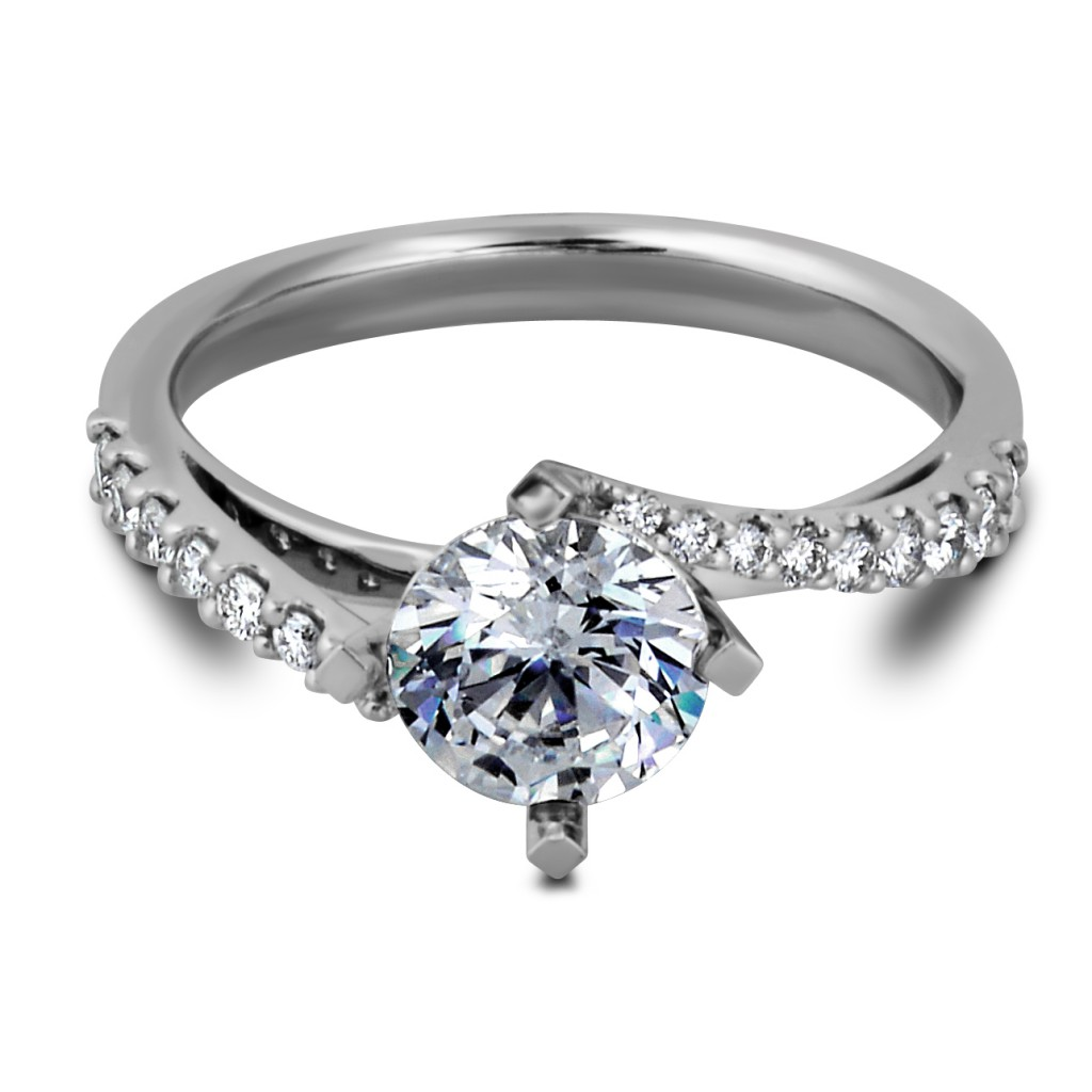 South Bay Gold Round-Cut Diamond Ring