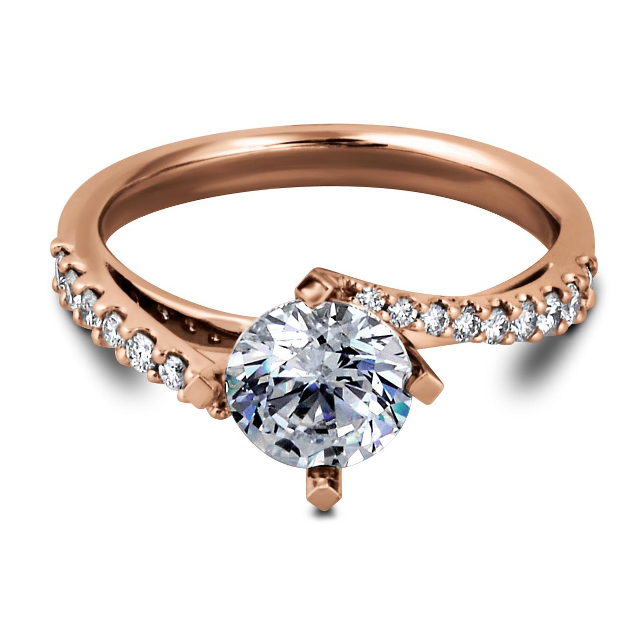 4 Prong Carponia Diamond Ring