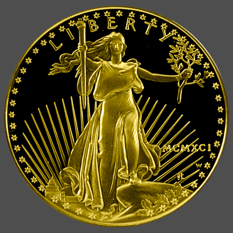 American Gold Eagle Proof-Front - South Bay Gold