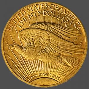 St Gaudens Double Eagle-b at South Bay Gold