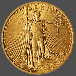 St Gaudens Double Eagle-f at South Bay Gold