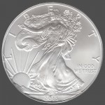 American Silver Eagle Front-view South Bay Gold