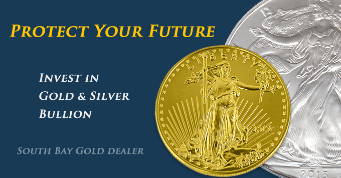 Buy Sell Gold Silver Bullion - South Bay Gold Dealers CNI - Kitco - Gold Dealer