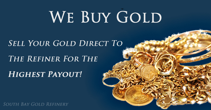 Sell Gold - South Bay Gold or Finleys Jewelers