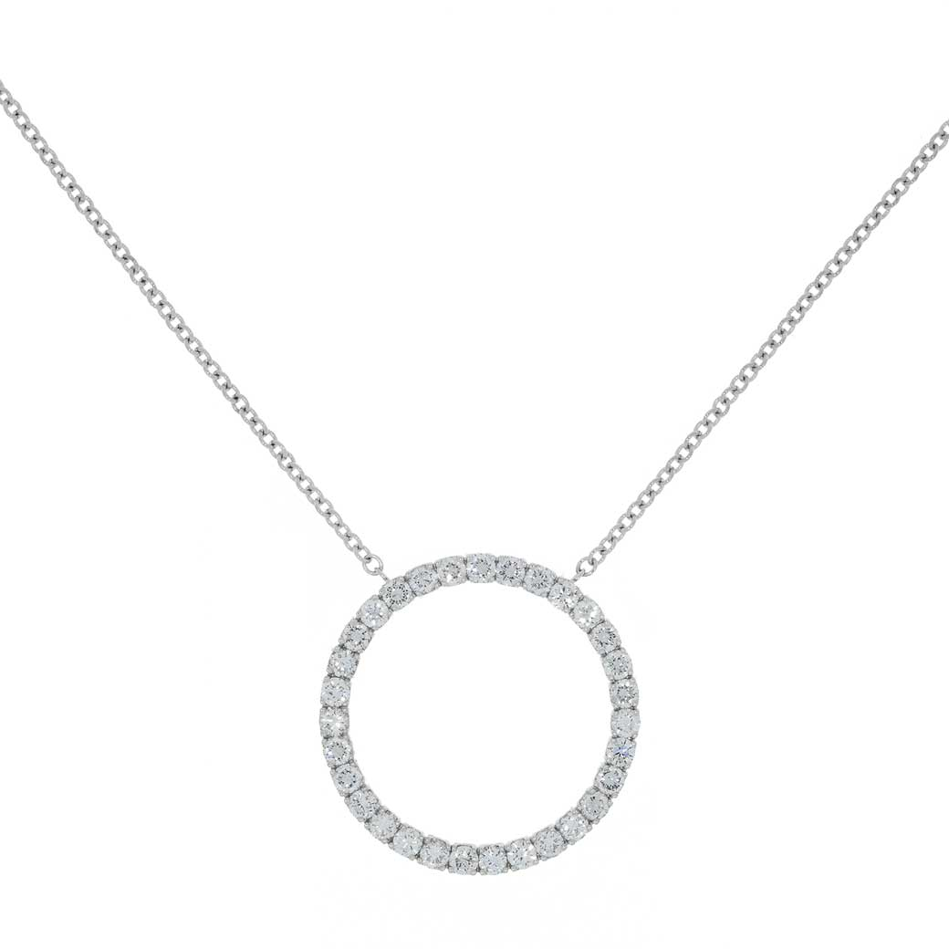 Circle Of Life Diamond Pendant - South Bay Gold