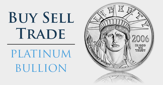 Buy Sell Trade Platinum Eagle - South-Bay-Gold