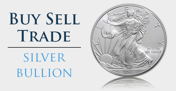 Buy Sell Trade Silver Bullion Silver Eagle - South-Bay-Gold