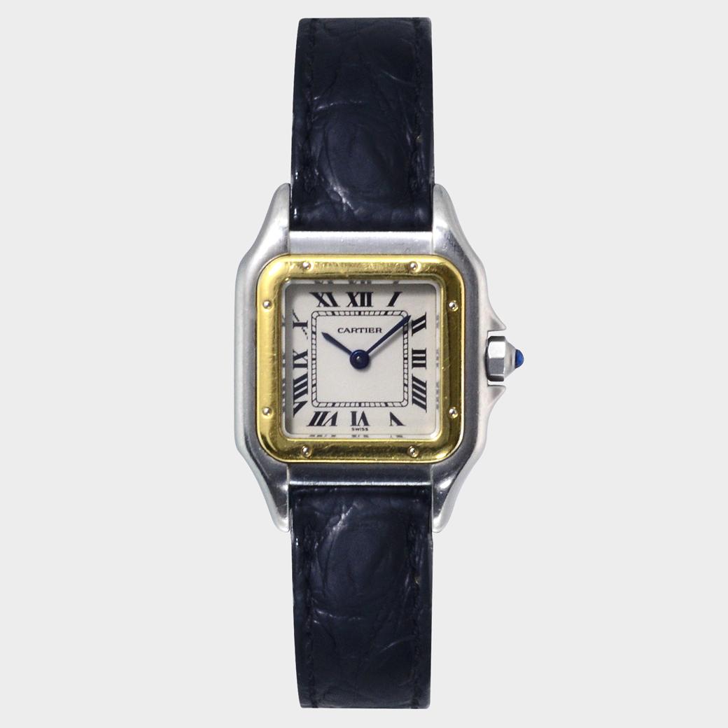 Cartier De Santos 1120 Women Watch South Bay Gold