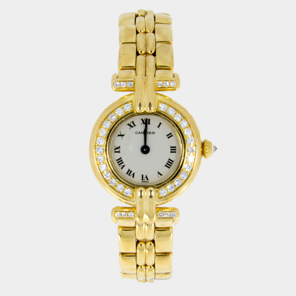 Cartier-Womens-Yellow-Gold-Diamond-Watch-Colisee-Sout-Bay ...