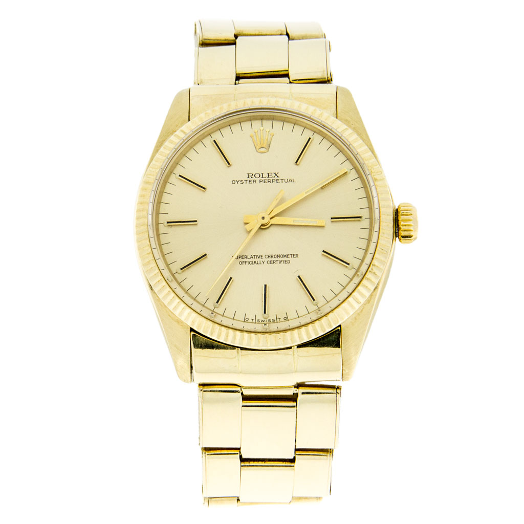 Rolex Oyster Perpetual 14k Gold 1005 South Bay Gold - Torrance
