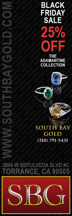 Daily Breeze Black Friday Sale 25 Percent OFF Rings South Bay Gold