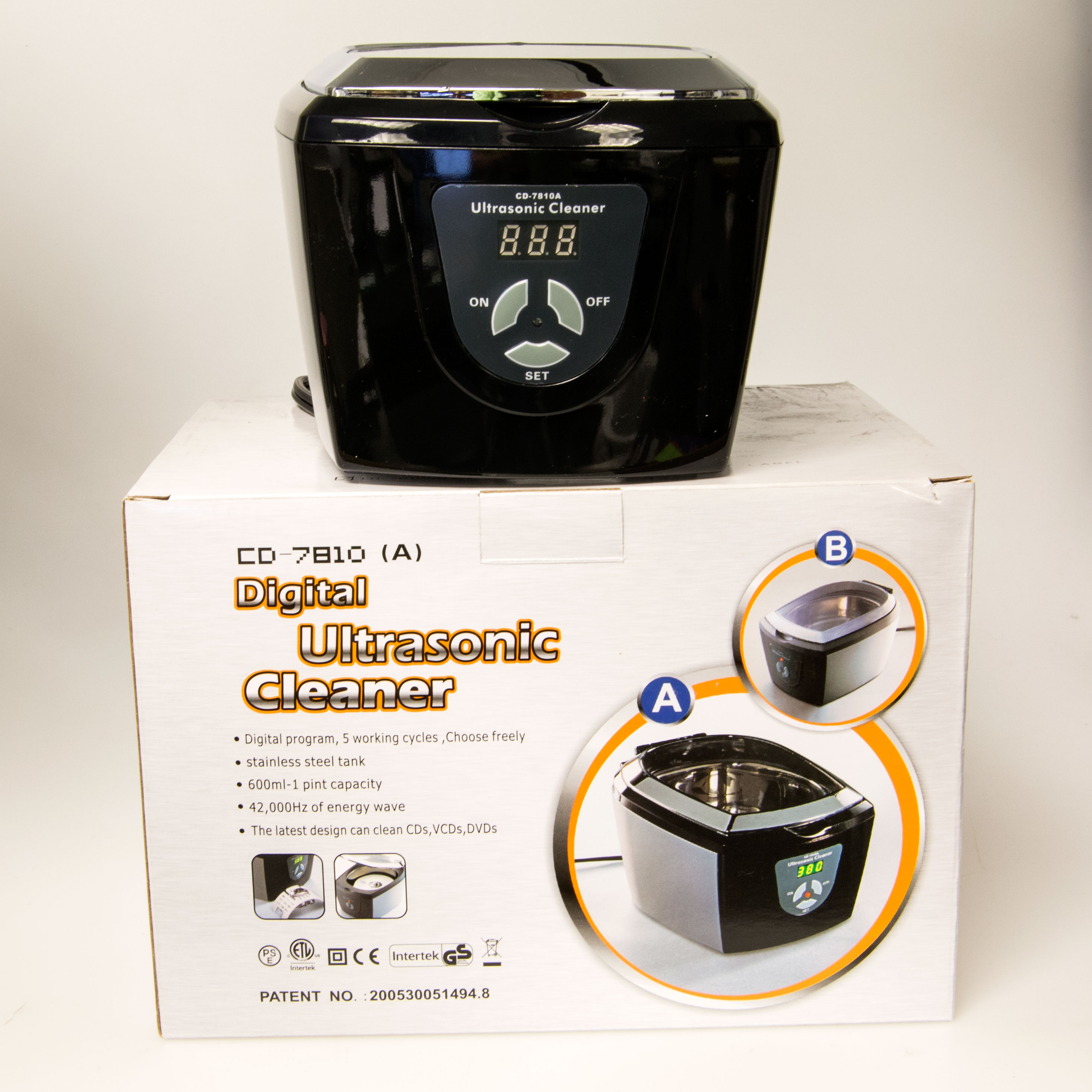 Gift With Purchase Digital Ultrasonic Jewelry Cleaner