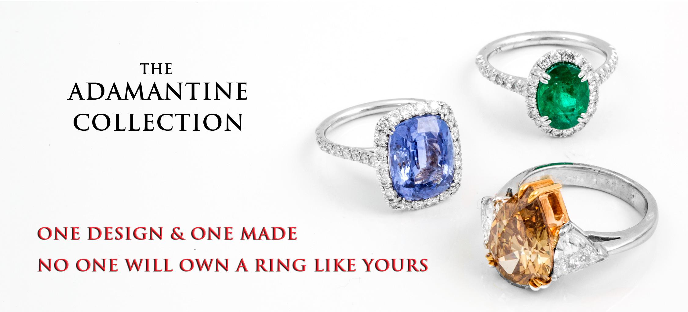 Gemstone Rings Diamonds Sapphires Topaz Emerald - Jewelry Store Torrance