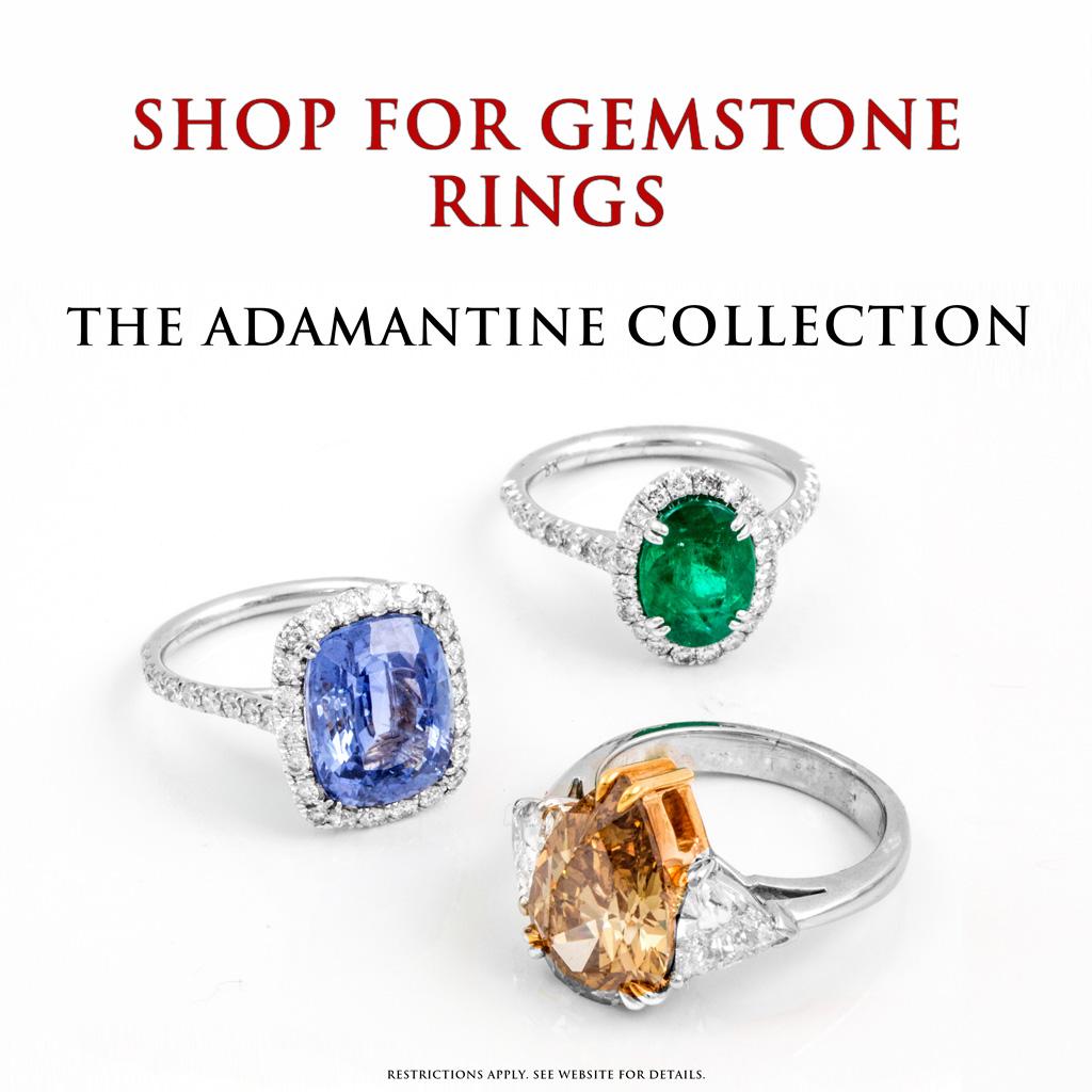 Gemstone Rings Jewelry Store Torrance
