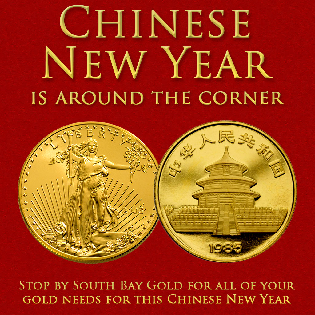 Happy Chinese New Year - A Gift of Gold