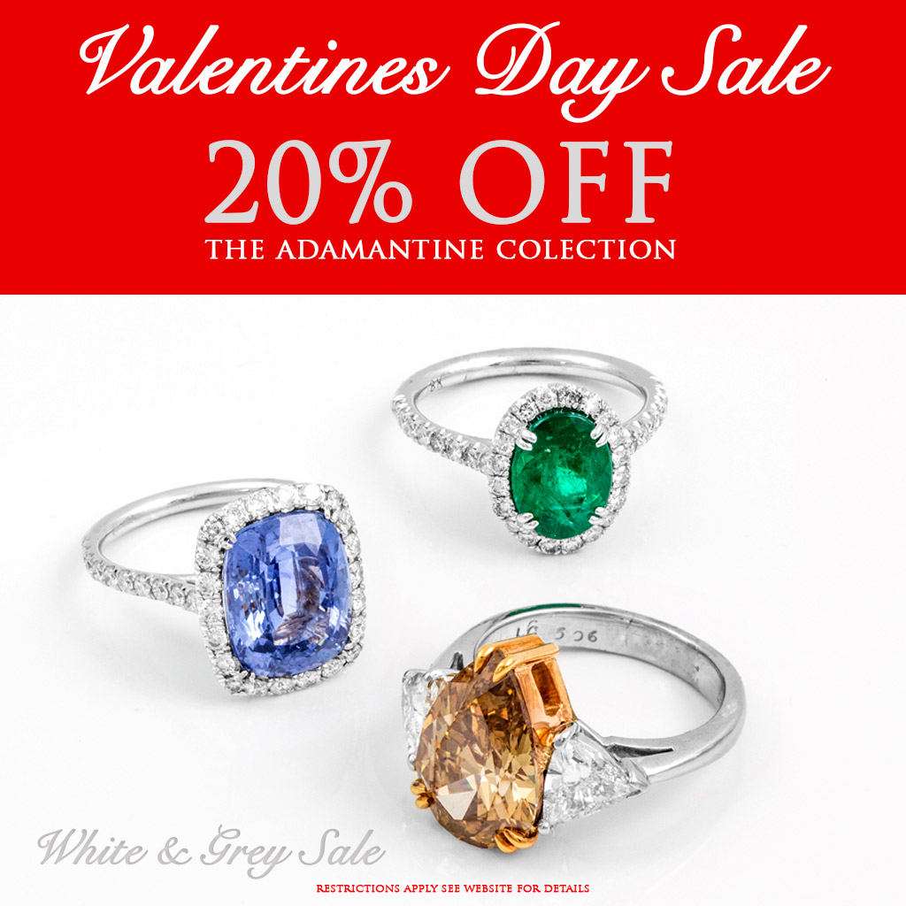 Valentines Day Special Sale Ring Engagement Love ProposaDiamond Ruby Sapphire Emerald
