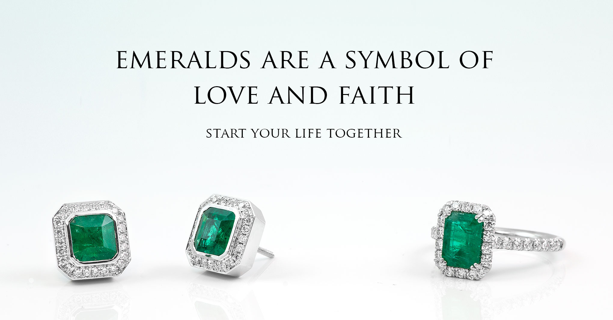 Emerald Engagement Rings and Earrings - 3804 Sepulved Blvd, Torrance Ca 90505