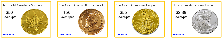 Buy or Sell, Gold or Silver Bullion at SBG Torrance
