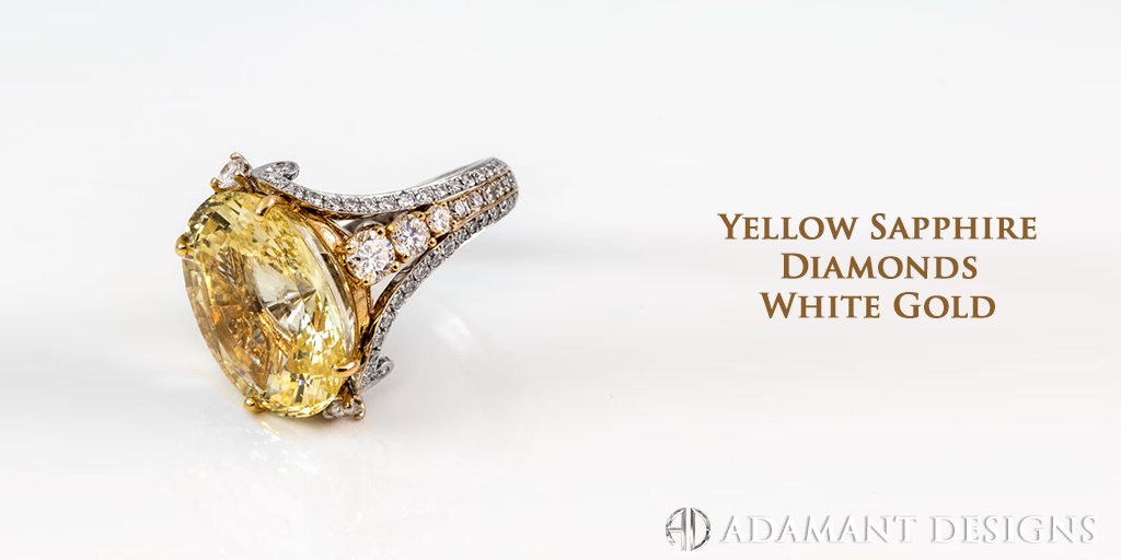 Yellow Sapphire Diamonds Custom Design
