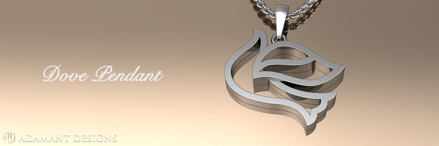 Dove pendant sbg jewelry store los angeles for August jewelry store los angeles