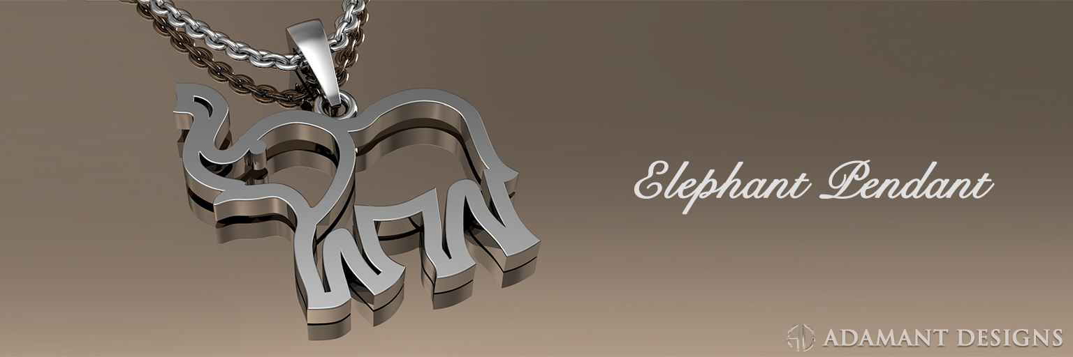 Elephant pendant sbg jewelry store los angeles for August jewelry store los angeles
