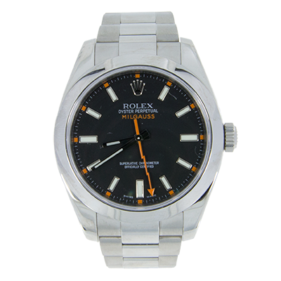 We buy Rolex Mens Oyster Perpetual Milgauss Black - 116400 - Southbay - SoCal